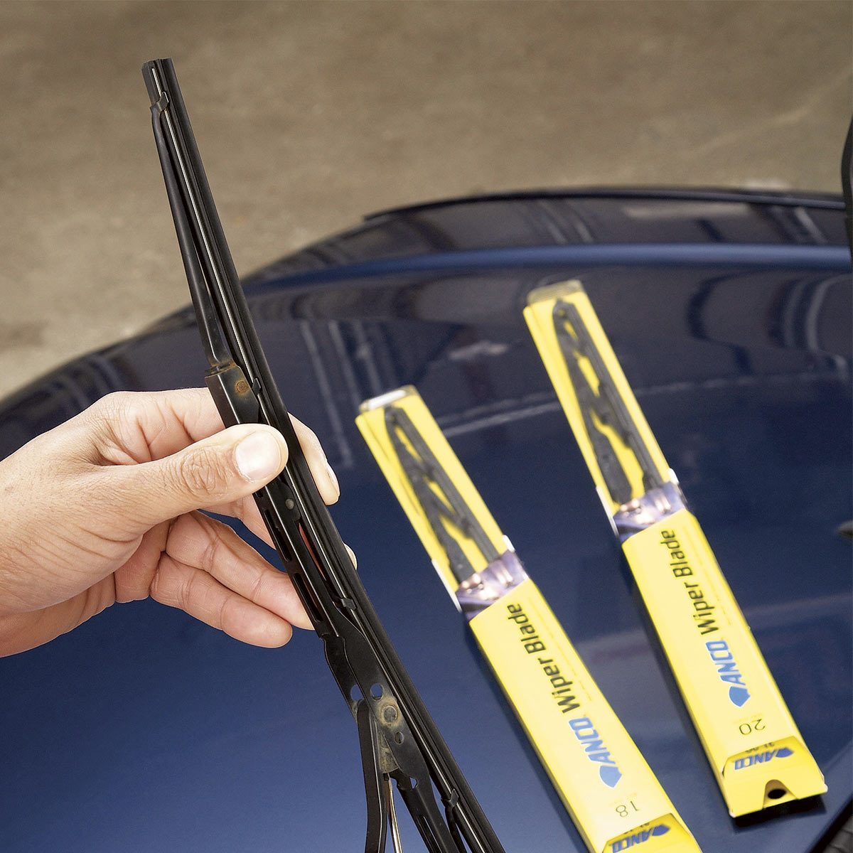 Replace Wiper Blades