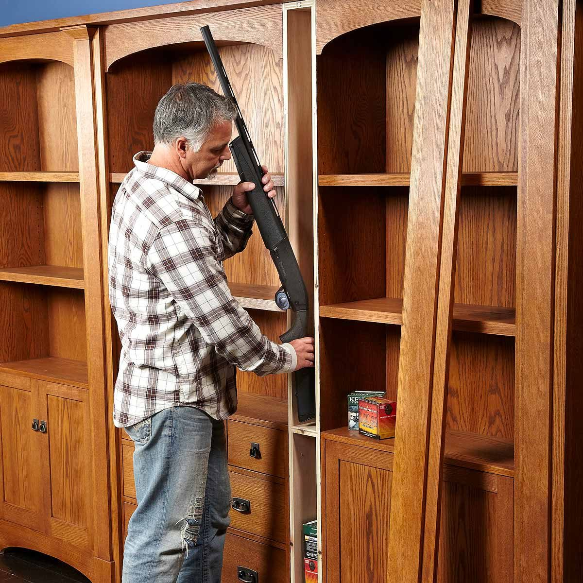 Bookcase Of Secrets The Family Handyman