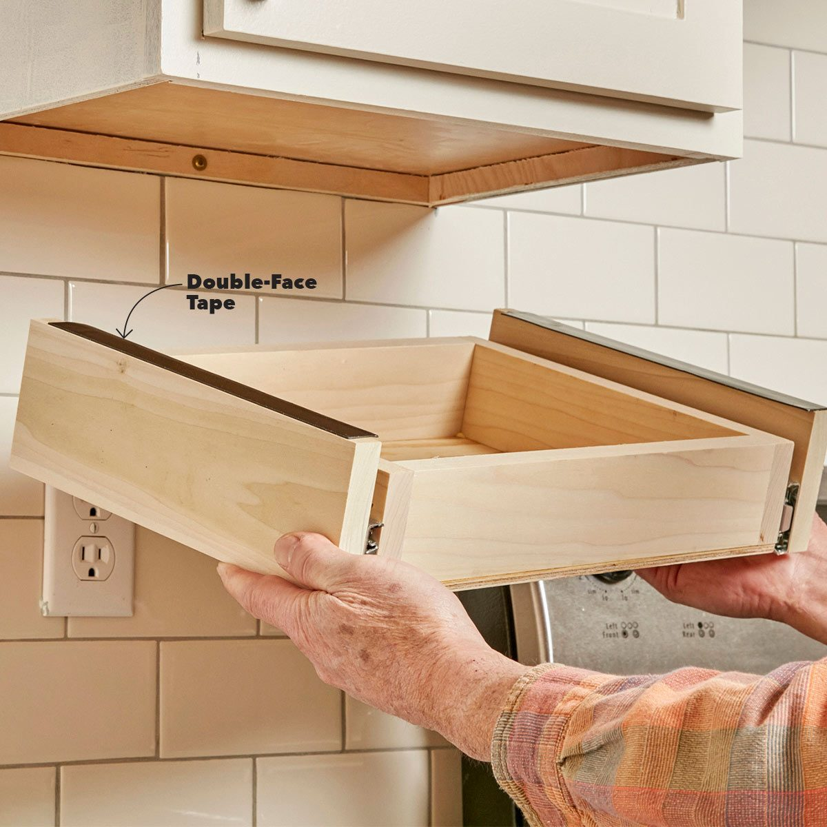 how to install drawers in kitchen cabinets how to build an cabinet drawer the family handyman 17042