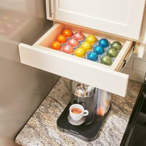 drawers under kitchen cabinets build organized lower cabinet rollouts for increased 15065