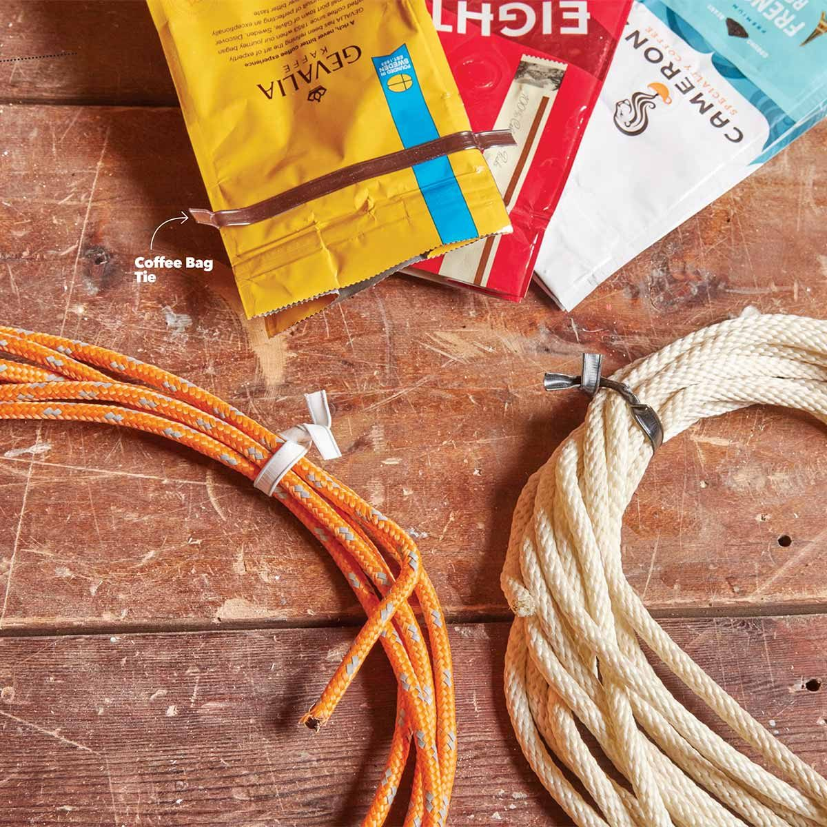 Coffee Bag Ties