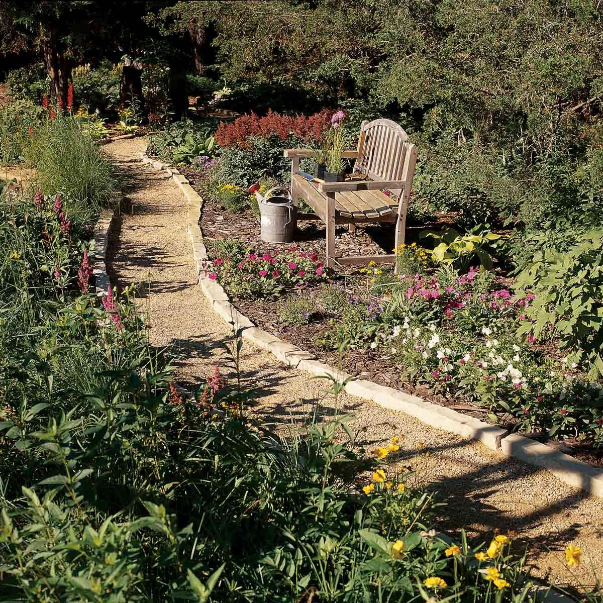 Affordable Garden Path Ideas | The Family Handyman