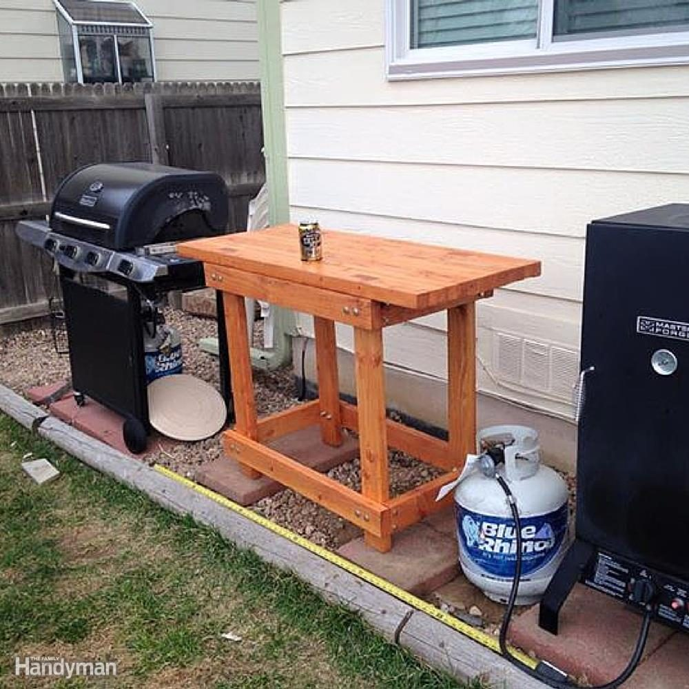 Outdoor Prep Table