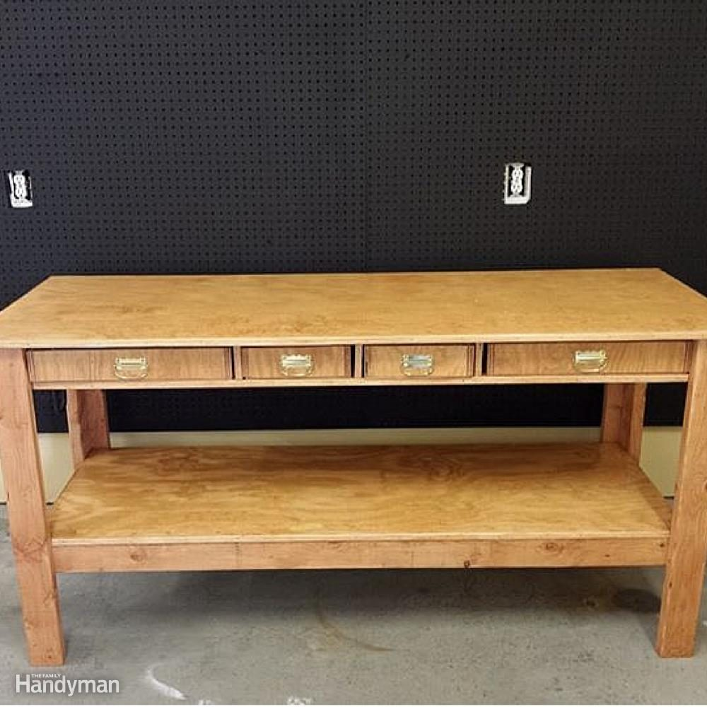 10 Real Life Wood Workbench Plans And Inspiration Photos The