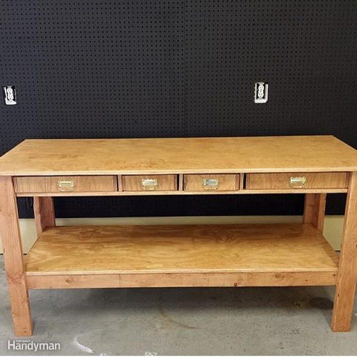 Simple Family Handyman Workbench