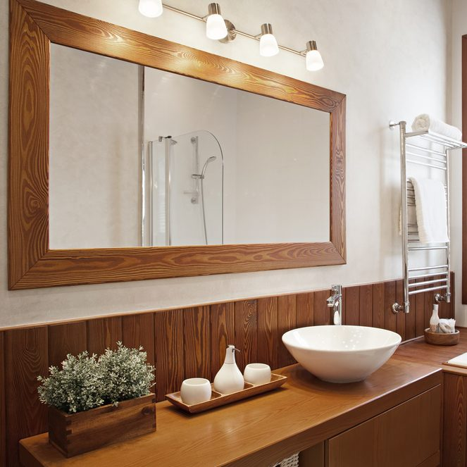 Learn How To Hang A Heavy Mirror Without Making Huge Hole In Your Wall There Are Several Advantages Reducing The Amount Of Damage When Hanging