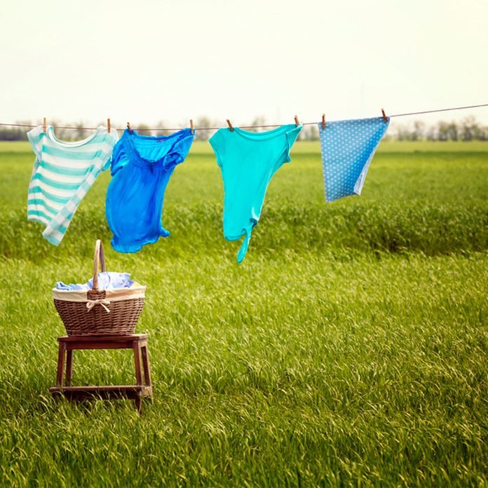 clothes line air dry