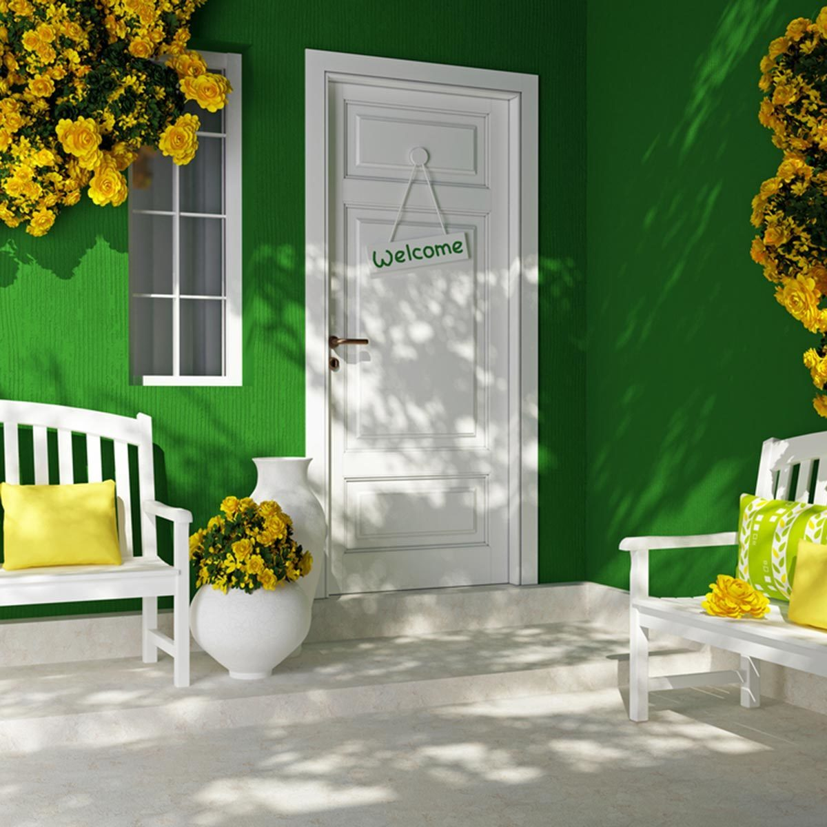 15 Stunning Front Door Colors That Wow | Family Handyman | The ...