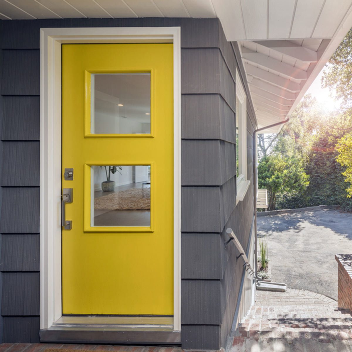15 stunning front door colors that wow family handyman youthful yellow rubansaba