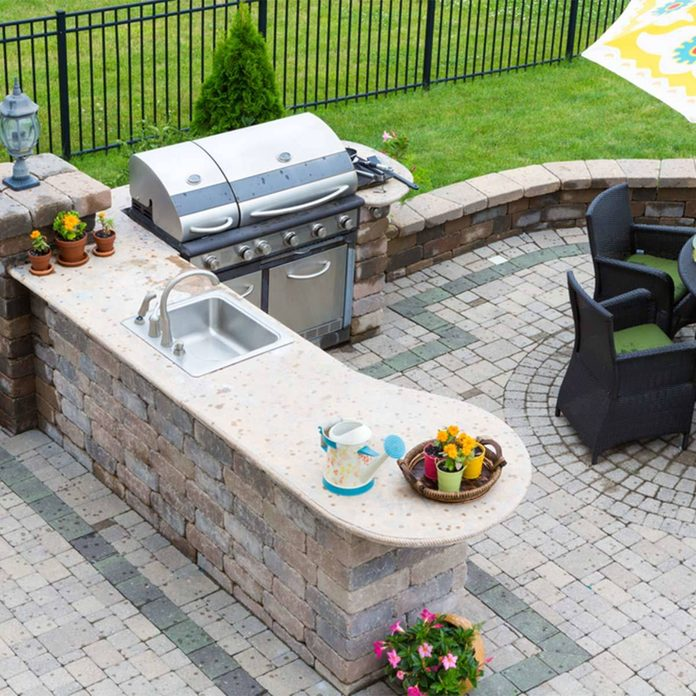 outdoor home bar