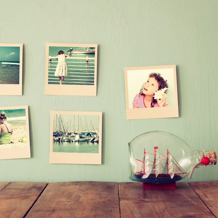 Show Off Family Pictures the Interesting Way