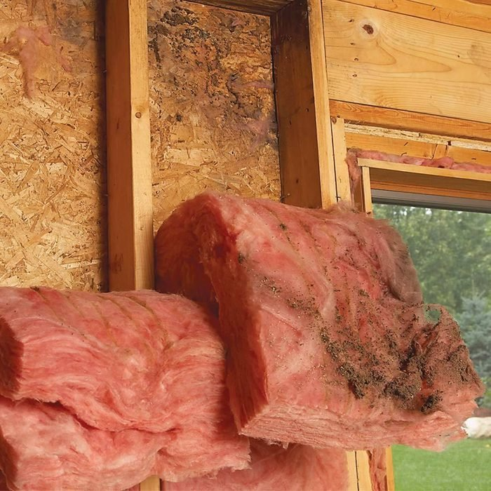 Places Where Insulation is Old or Damaged