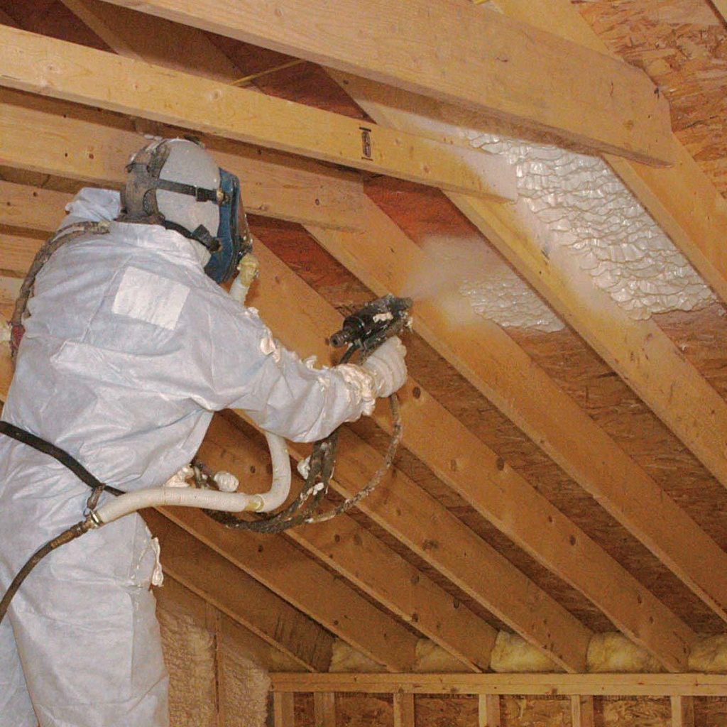 Upper Roof Trusses insulation