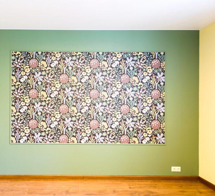 Modern Accent Wall: Go Big Art