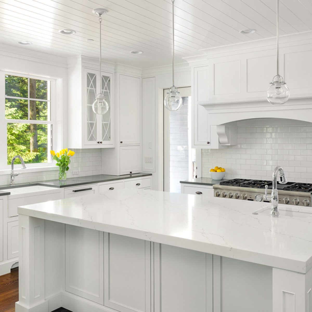 15 Stunning Gray Kitchens With Images: 15 Kitchen Color Schemes For Your Inner Gourmet