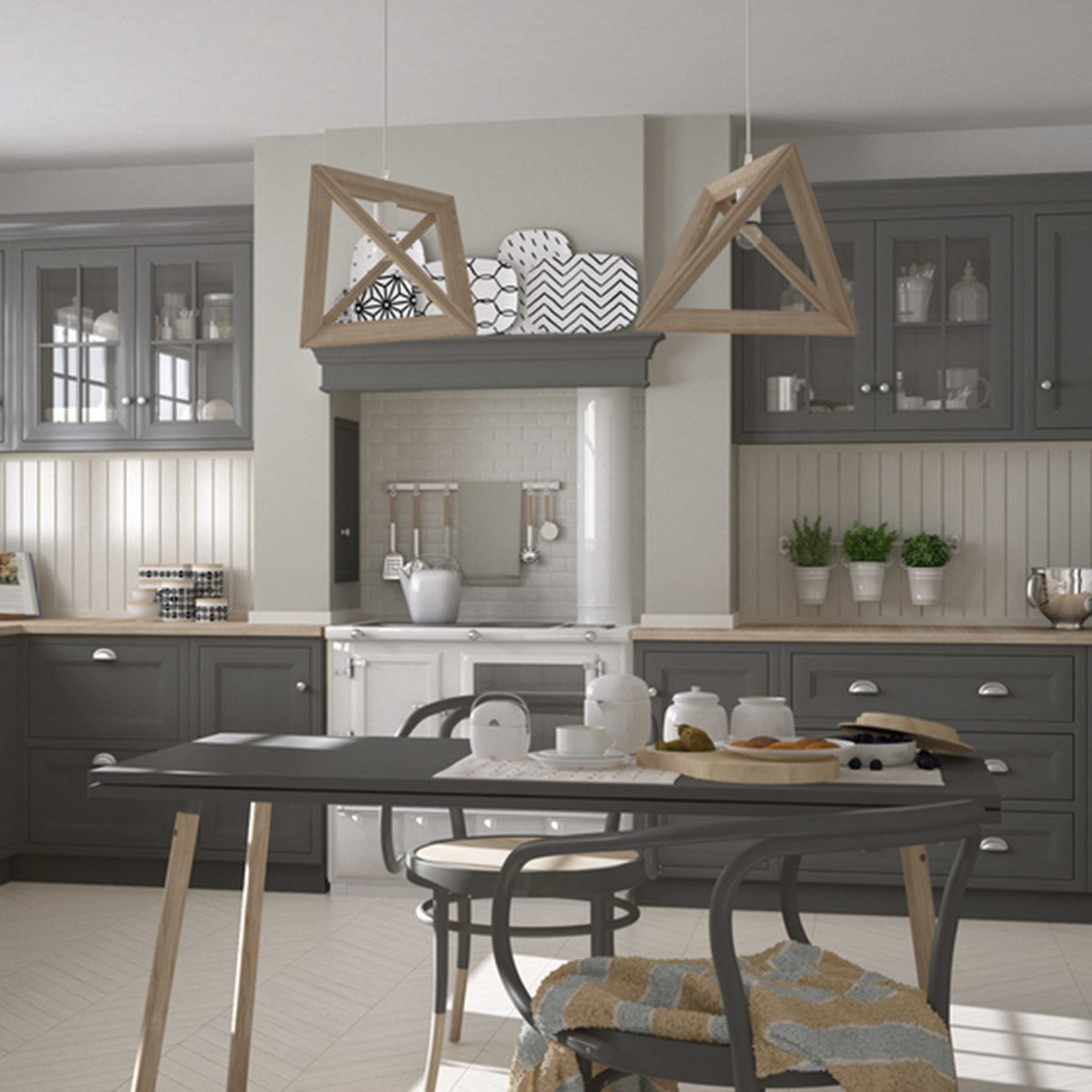 Kitchen Iland Chesterwood Colour Combination: 15 Kitchen Color Schemes For Your Inner Gourmet