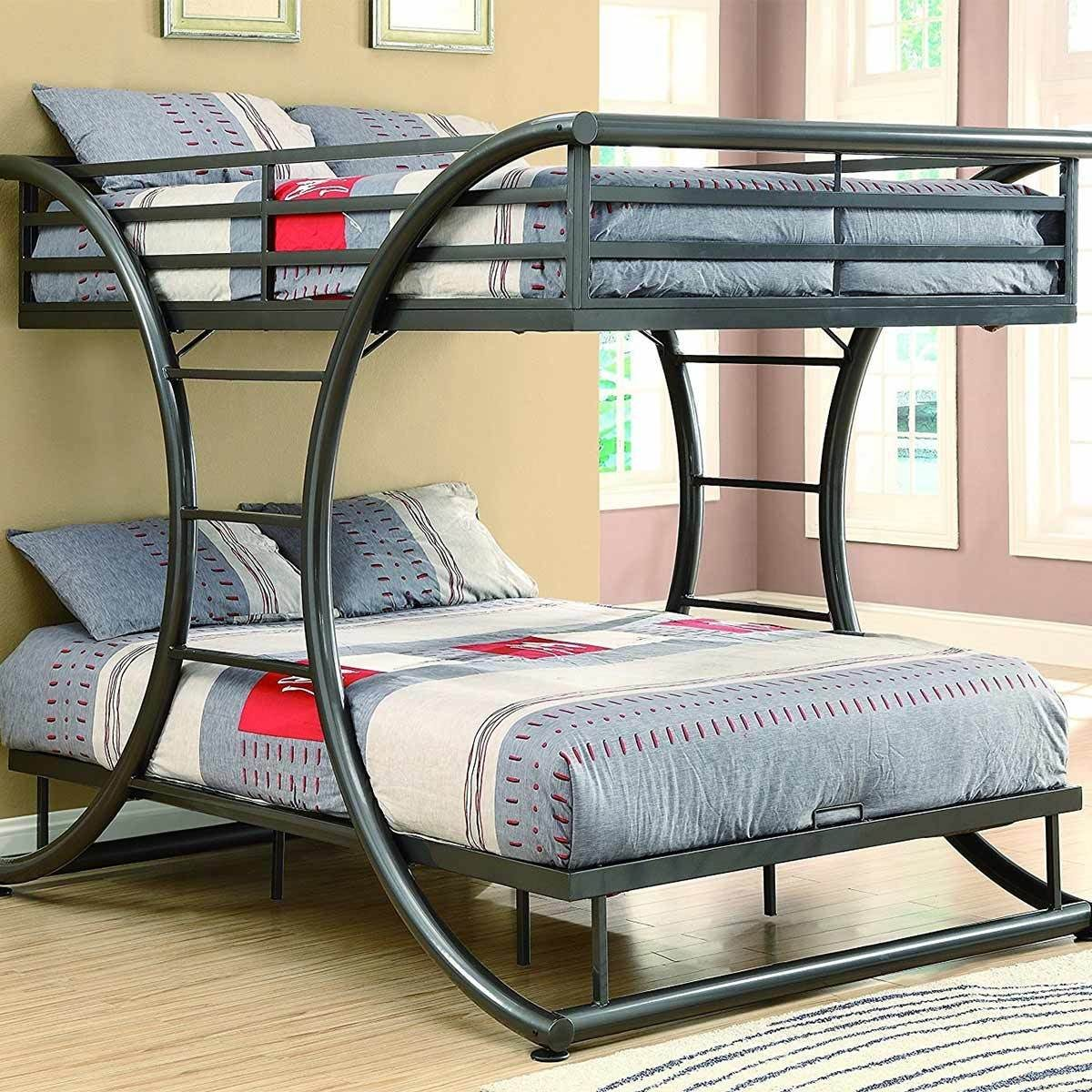 Modern Metal Bunk Bed