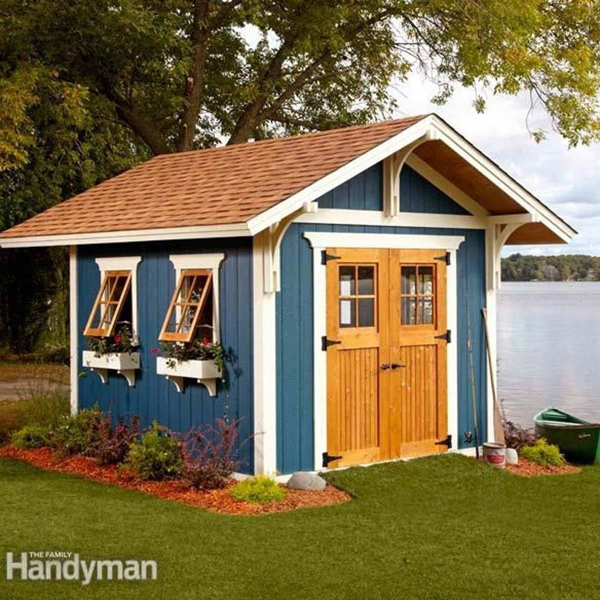 24 tips for turning a shed into a tiny hideaway the family handyman