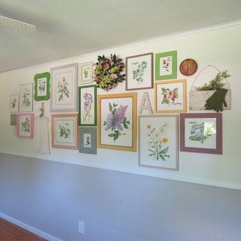 Remove Templates and Hang Art