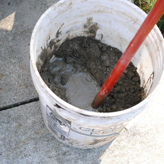Mix cement