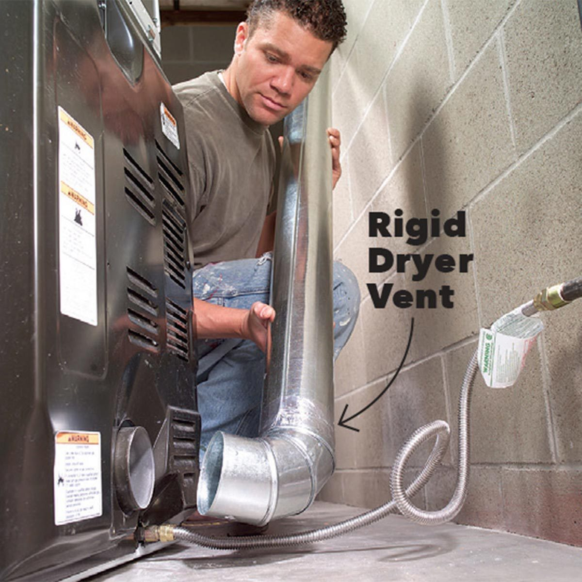 rigid dryer vent