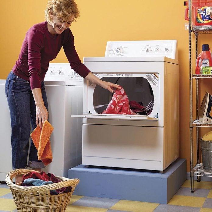 Raise your dryer