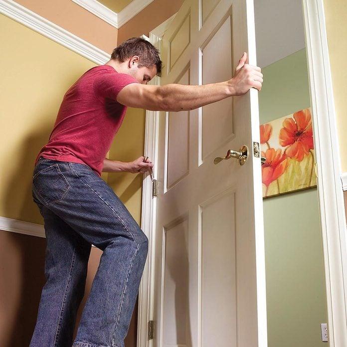 door installation DIY fix
