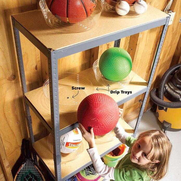 Stay-put balls