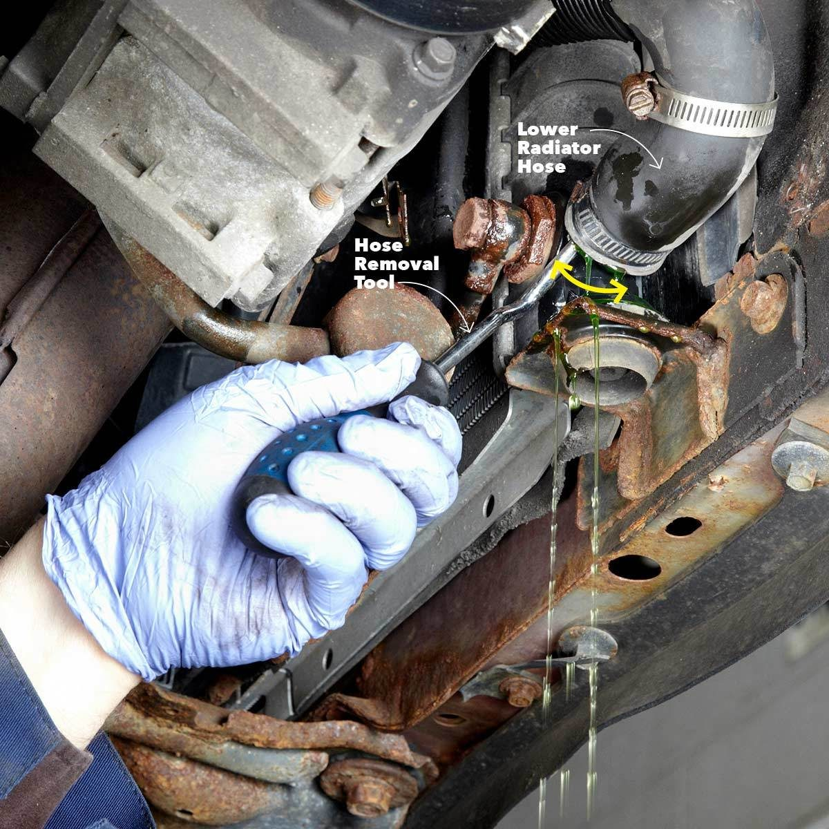 How To Change Your Engine Coolant The Family Handyman Vehicle