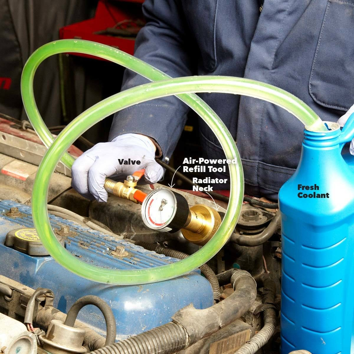 How To Change Your Engine Coolant The Family Handyman Damage
