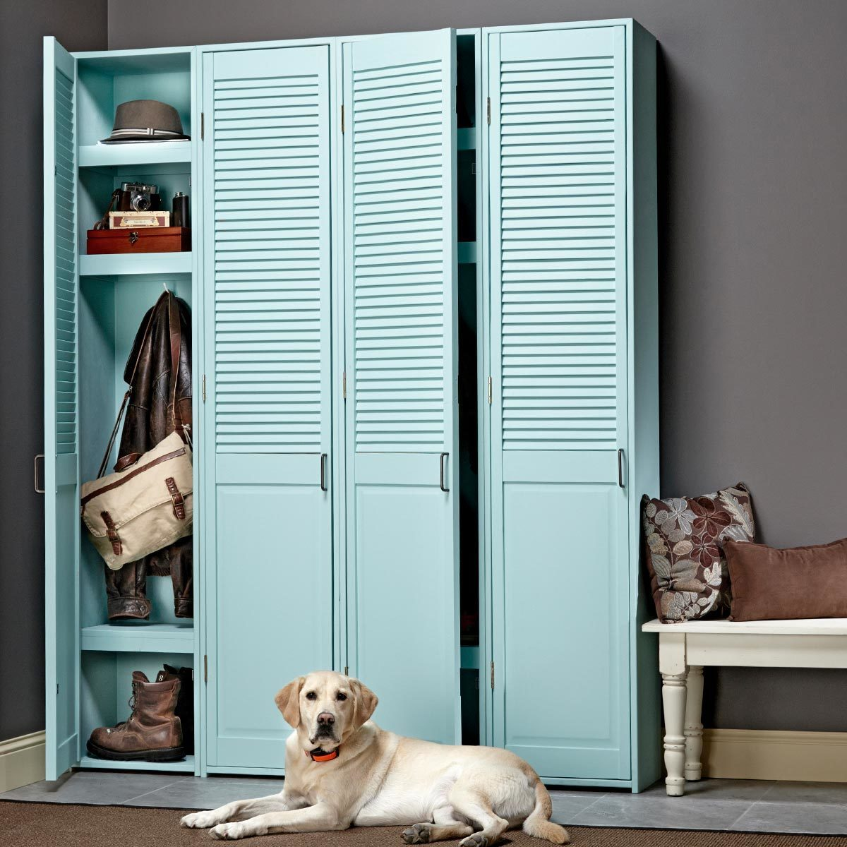 Build Mudroom Lockers