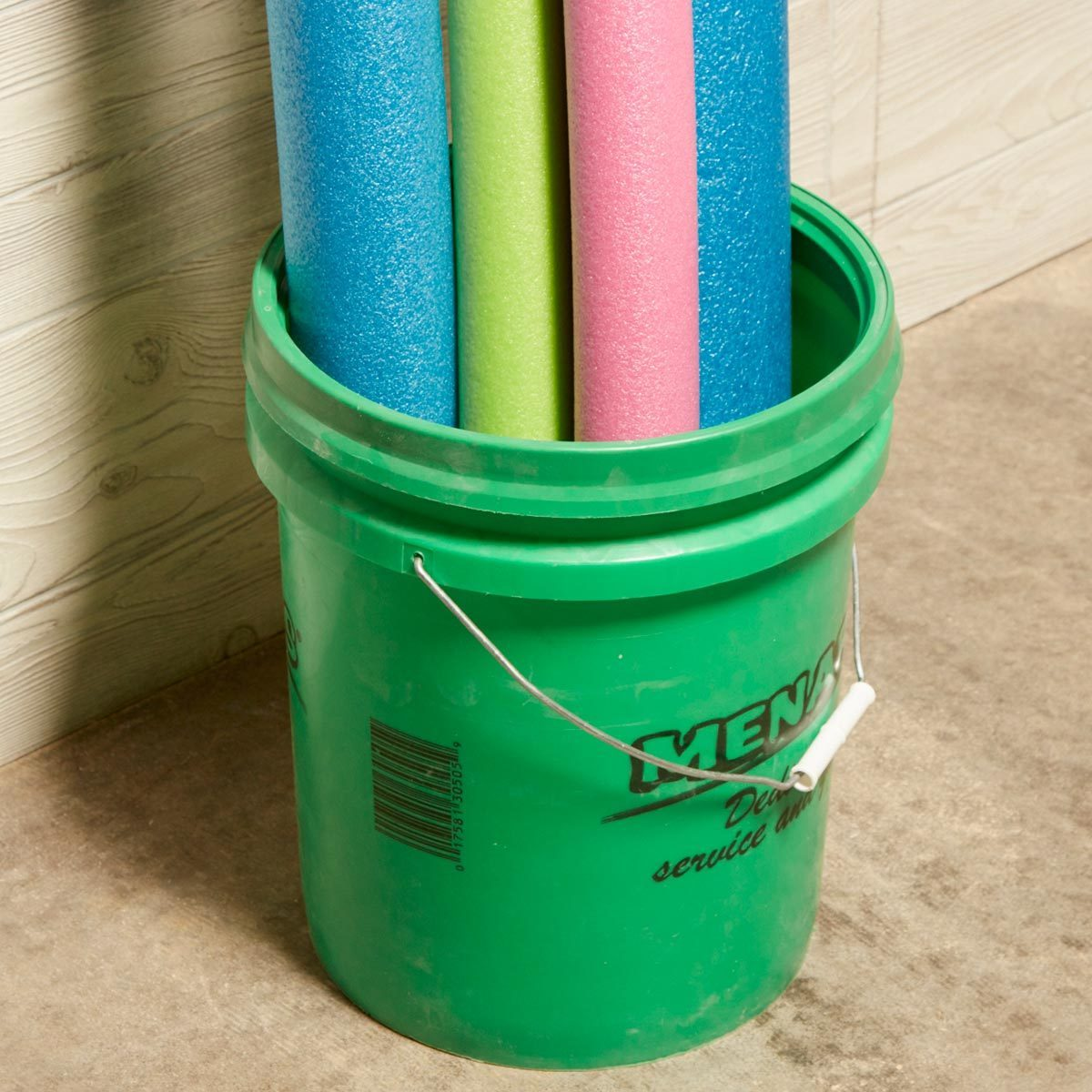 Simple Pool Noodle Storage