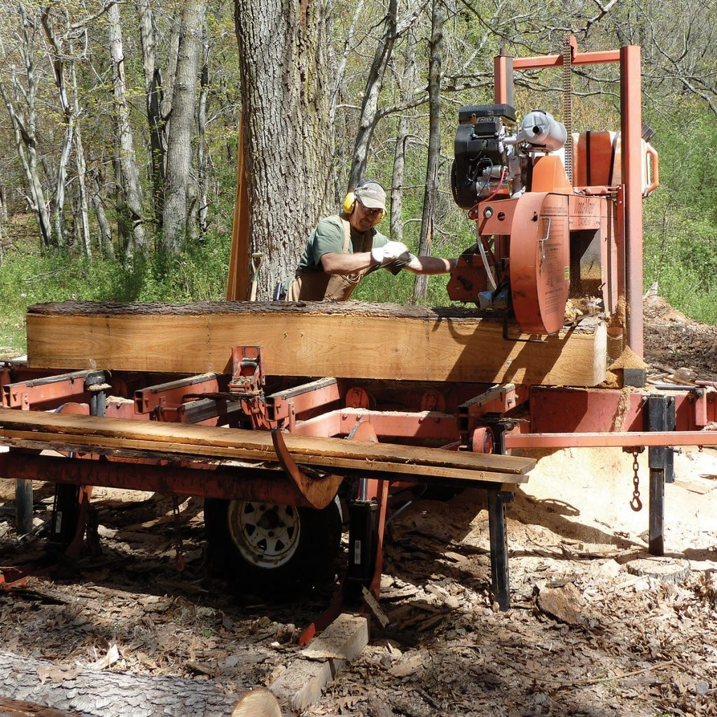 Planing lumber on a massive machine | Construction Pro Tips