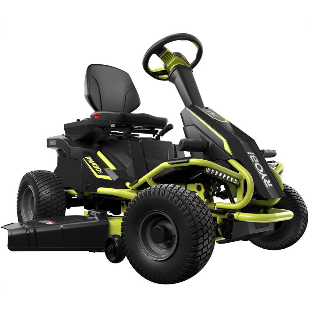 stuff we love: ryobi electric riding lawn mower | family