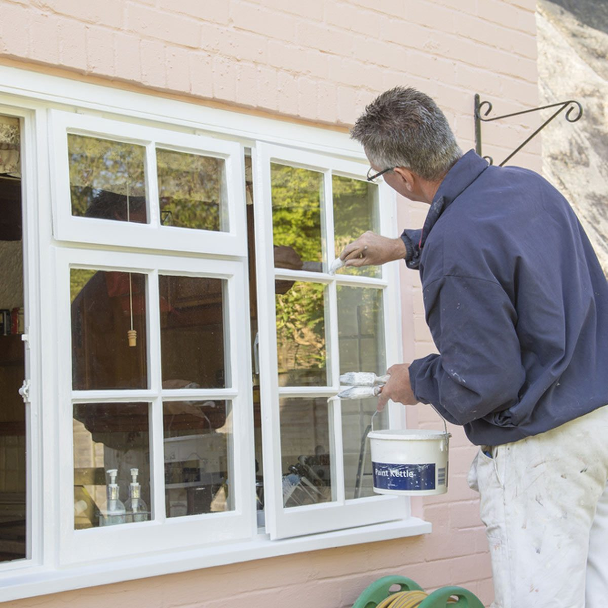 painting house windows residence trim paint