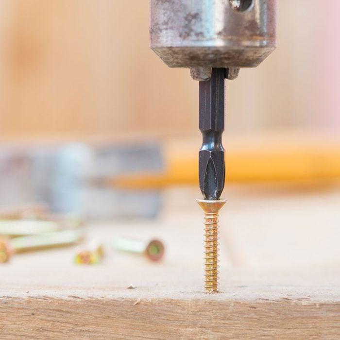 Fix a loose screw