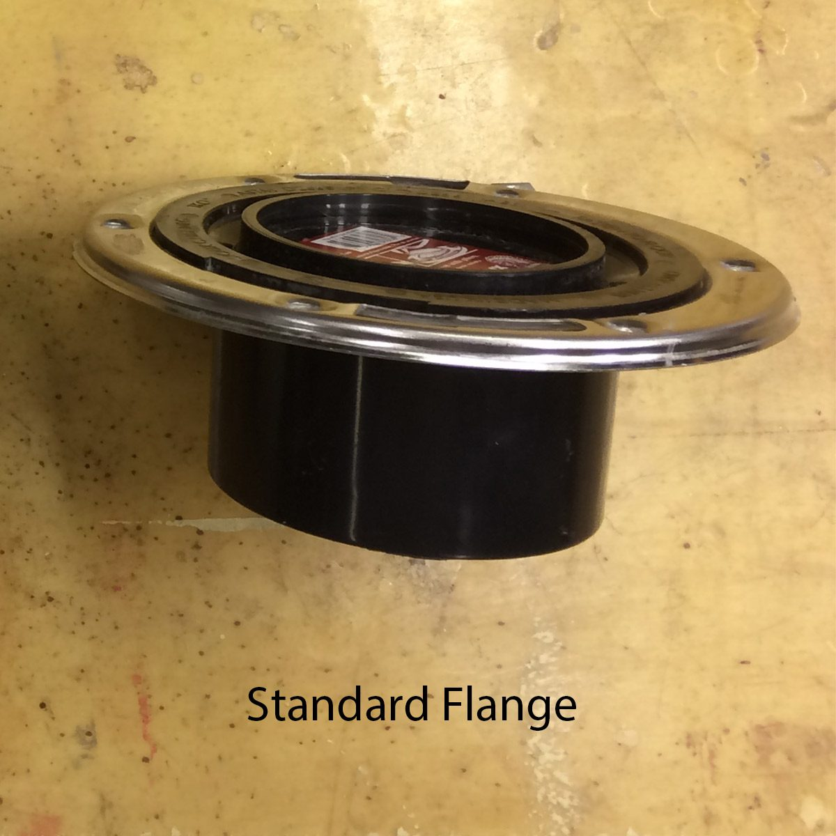 standard toilet flange with stainless steel ring