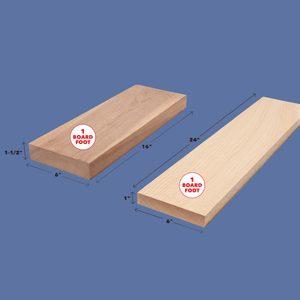 board foot dimensions