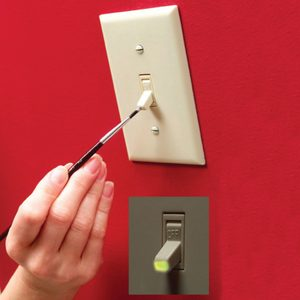 glow in the dark light switch