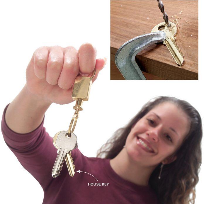 Self-Selecting Key