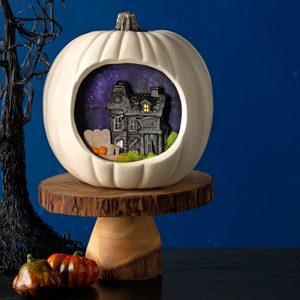 Creepy Cottage Pumpkin
