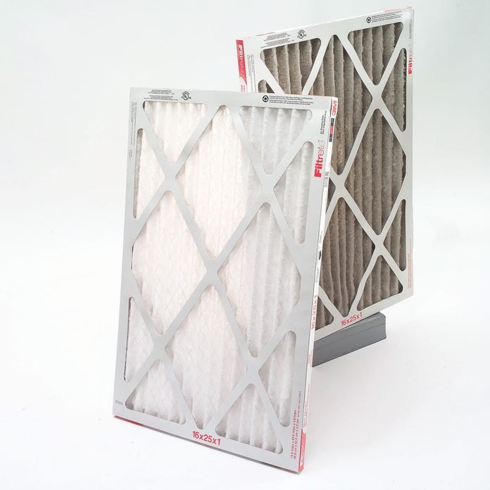 Clean and dirty furnace filters
