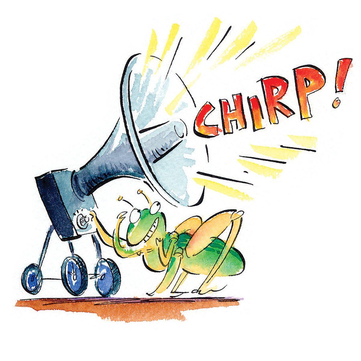 Chirp, chirp