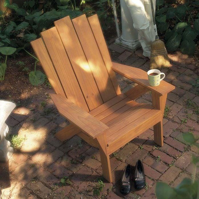 Adirondack Chair and Love Seat