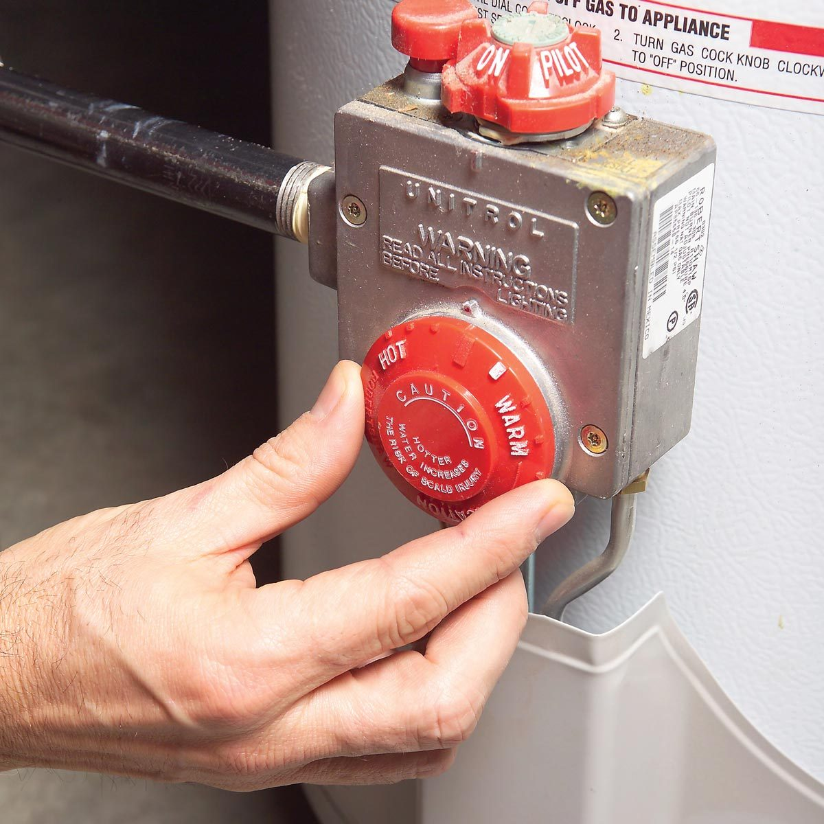 Adjust Your Water Heater