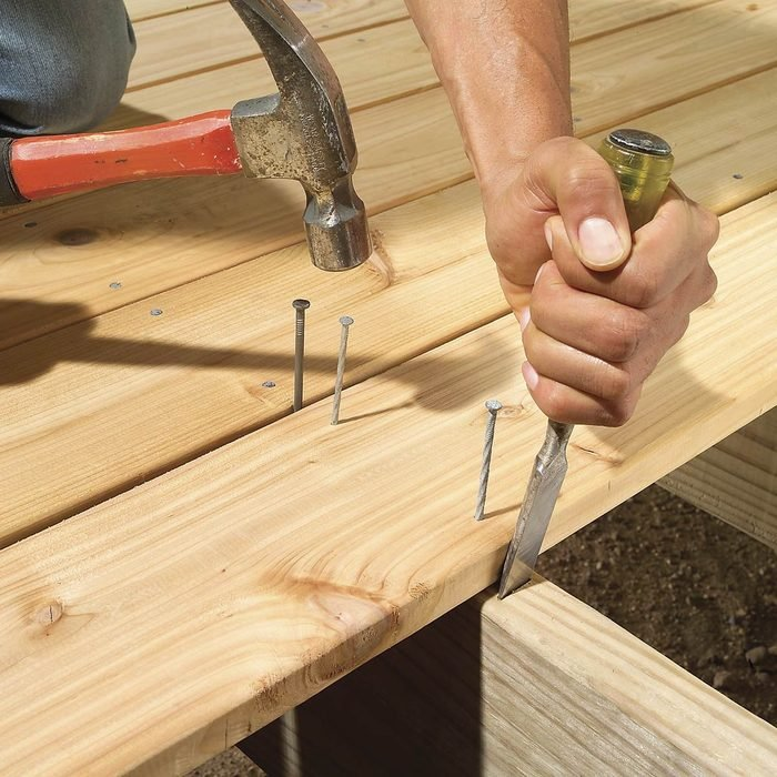 Plan for deck board movement