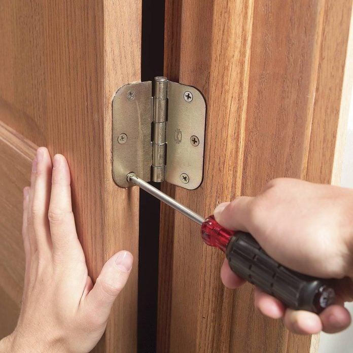Sticking door fix