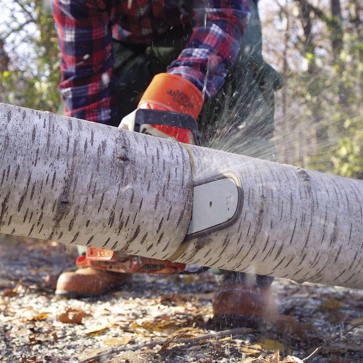 Can a battery-powered saw replace a gas model?