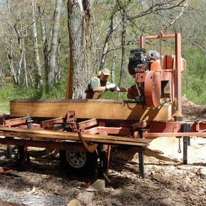 commercial sawmill wood lumber planing