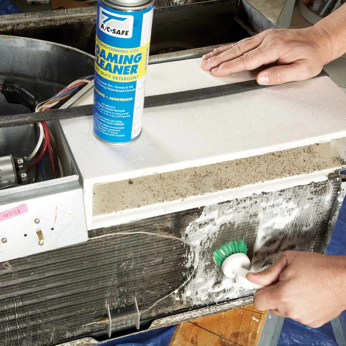 Clean a Room Air Conditioner